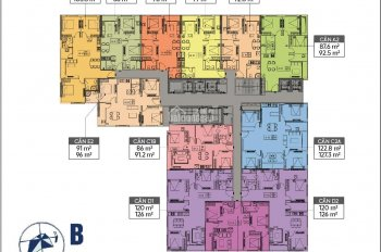 Bán cắt lỗ căn 64m2, 2 phòng ngủ ở dự án Liễu Giai Tower. 092 848 3979
