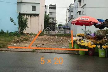 Bán đất thổ cư vuông vức, MT Lê Thị Hà, Tân Xuân, Hóc Môn, SHR, xây dựng tự do