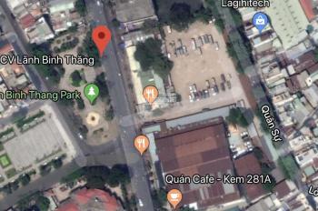 Đất vị trí trung tâm cực kì đắc địa MT đương Lãnh Binh Thăng p8 Q11 giá 80m2 chỉ 2ty8 sổ hồng riêng