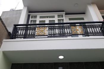 Bán nhà 1 trệt 2 lầu, 5x16m, đường nhựa 8m, KDC an ninh, giá 1.85 tỷ bao sang tên