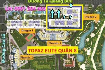 Bán gấp căn hộ Topaz Elite Draogn 02 Block C tầng trung mã 03 DT 79m2 Giá 2,589 VAT LH 0901584485