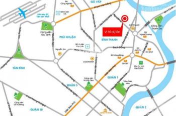 Bán căn hộ Bình Thạnh, Richmond City chỉ với 1,8 tỷ/căn 2PN, nội thất cao cấp, LH: 0911460747