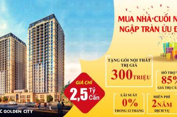 Căn hộ chung cư ưu đãi nhất khu vực Nguyễn Văn Cừ, Long Biên, hỗ trợ vay tới 85%, HTLS 0%/ 12 tháng