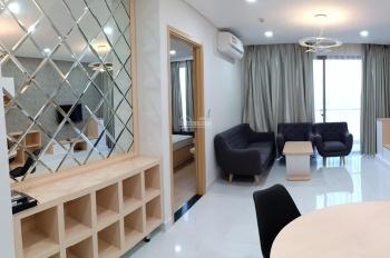 Cho thuê căn hộ 2 phòng ngủ view sông, nội thất đẹp, giá 13 triệu, CC An Gia Riverside, có ban công