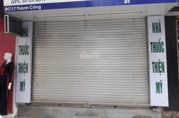 Cho thuê cửa hàng kinh doanh mặt phố Thành Công - 24m2