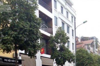 Cho thuê nhà 8 tầng mặt phố Nguyễn Thị Thập, tiện kinh doanh khách sạn 23 phòng có hầm để xe