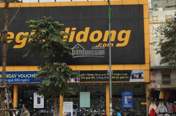 Bán nhà mặt tiền 8m, mặt phố Trần Hưng Đạo, góc ngã tư Bà Triệu, DT 70m2, 3 tầng, 50 tỷ