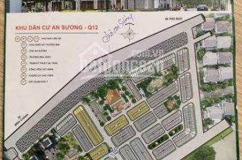 Bán lô đất An Sương 8x20m, đường 30m, hướng Đông Nam, P. Tân Hưng Thuận, Q12. Giá: 13 tỷ