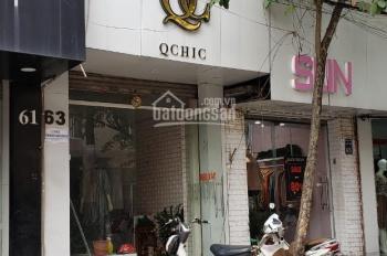 Cần sang nhượng cửa hàng thời trang mặt phố 63 Đặng Văn Ngữ. DT 40m2, MT 3m, cho thuê 12tr/tháng