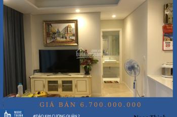 Bán căn hộ 2 phòng ngủ view nội khu tầng cao Tháp Maldives giá 6,7 tỷ đồng ( Đã bao gồm thuế phí )