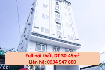 Phòng căn hộ mới full nội thất sát khu công nghiệp Tân Bình, 30 - 45m2, giá 3.8tr/th