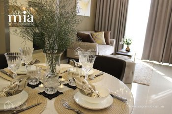 Cho thuê CH Sài Gòn Mia 1 - 2 - 3PN nhà mới hoàn toàn, chỉ từ 7tr/th, tặng 1năm PQL, 0946220732