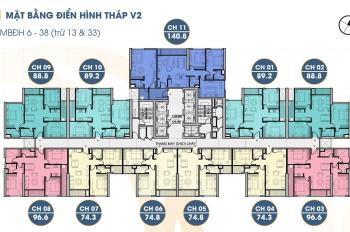 Chỉ 22tr/m2 bàn giao nội thất cao cấp, thiết kế hiện đại đầy đủ ánh sáng TT quận Hà Đông