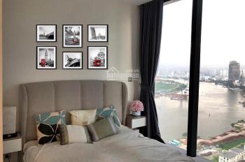 Cho thuê 2PN Aqua2, tầng 22 view sông, Bitexco, nội thất cơ bản giá 21 triệu. Gọi ngay 0931 936 360