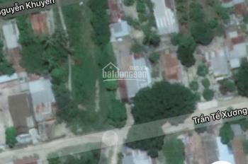 Cần bán lô đất sổ đỏ thổ cư mặt tiền đường Nguyễn Khuyến sau lưng chợ Cam Đức giá công khai 950tr!
