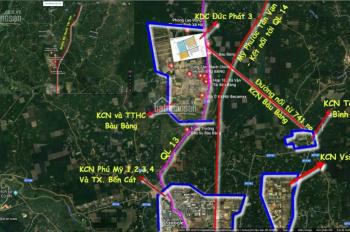 5 suất liền nhau KĐT Dream City Bàu Bàng - Bình Dương, ngay công viên trung tâm. LH: 0934609090