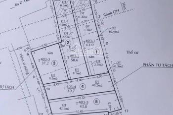 Bán đất trống đã phân 6 lô HẺM XE HƠI đường Dương Bá Trạc P1 Quận 8 ( liền kề trung tâm Quận 1 )