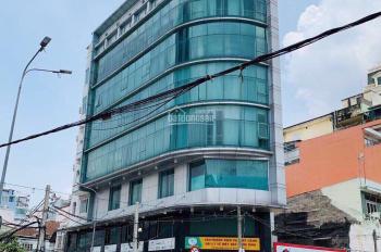Cho thuê nhà 6 lầu, góc 2 mặt tiền 4.5 x 20m, Nguyễn Thị Minh Khai, quận 3, giá: 100tr/1th