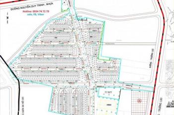 Chính chủ sang đất 3 mặt tiền lô Nam Khang, Nguyễn Duy Trinh, giá cực tốt 920 triệu, 0782917197