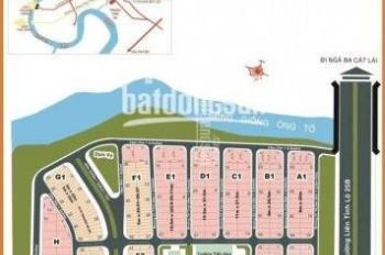 Cần bán đất nền Thế Kỉ q2, gần Sông Giồng Ông Tố, lô A DT 8x20m, giá 70tr/m2 sổ đỏ chính chủ