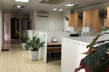 Cho thuê VP trong toà nhà phố Trần Thái Tông, Q.Cầu Giấy - đã thiết kế full nội thất văn phòng.