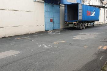 Cho thuê kho đẹp chứa hàng 350m2 xe container vào tận kho cao không ngập nước gần cầu chà và Q5