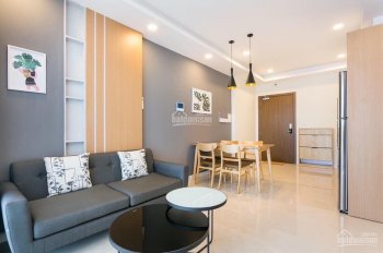 Cho thuê căn hộ chung cư Masteri Millennium, quận 4, 2 phòng ngủ thiết kế hiện đại giá 21 triệu/th