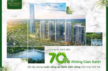 Eco Green Sai Gon mở bán HR3 đẹp nhất dự án, chiết khấu đến 6%, trả góp 0%, LH 0903691096