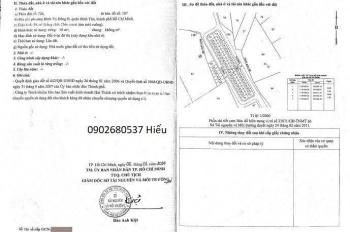 Cần bán gấp lô gốc 2 mặt tiền đường 20m KDC Hai Thành, Bình Tân, sổ riêng 4tỷ/nền, Hiếu: 0902680537