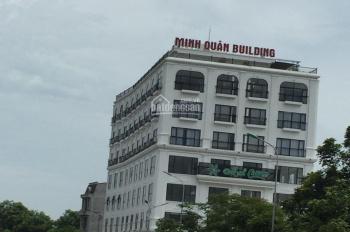 Cho thuê văn phòng, tòa nhà Minh Quân, DT 50m2 - 100m2 - 200m2 - 400m2. Hotline 0974.056.212