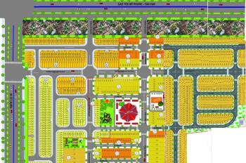 Bán đất Dự án Phú Hồng Thịnh 6, giá 28tr/m2, sổ hồng riêng, đường 13m, 0898405502