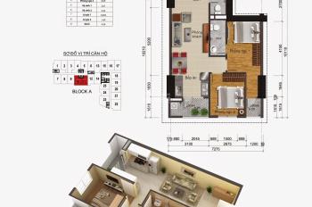 Cần bán căn hộ 65m2 chung cư Gemek Tower ,huyện Hoài Đức, giá 1 ,1 tỷ.LH:0904999135