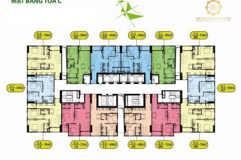 Chính chủ bán gấp CC Intracom Đông Anh, căn hộ 1606: 57,6m2, 2PN, giá bán 21tr/m2.LH 0971285068