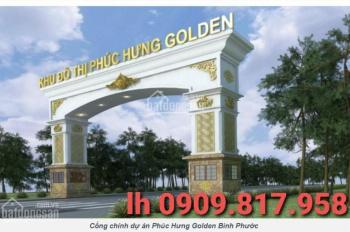 Bán đất khu đô thị Phúc Hưng Golden giá chỉ từ 345tr mà có đủ tiện ích, k mua sao giàu 0909.817.958