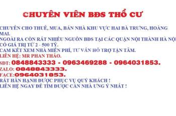 MP Liễu Giai, Đào Tấn, Ba Đình, 52m2 x 5 tầng, mt 6m. LH:0848843333
