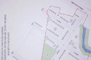 Bán đất nền khu dân cư  TUẤN ANH GARDEN  xã nhơn đức huyện nhà bè tp HCM