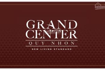 Căn hộ thành phố Biển Quy Nhơn Grand Center Quy Nhơn, giá 38tr/m2. Thanh toán 10%, LH 0909314308
