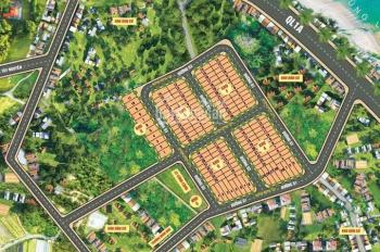 Chính chủ bán 4 lô đất thổ cư ven biển Sông Cầu - Phú Yên, 5x20m giá 499tr/lô. LH: 0909.622.373