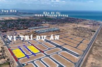 Đất khu cán bộ công an Tuy Hòa 80m2 chỉ, TT338 triệu (20%) đất ven biển sát sân bay, 0966 39 86 09