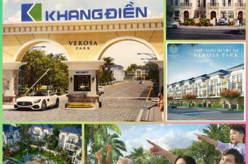 Có nên mua nhà phố - biệt thự - Verosa Park Khang Điền - DT: 5x18m - 8x18m - 10x20m