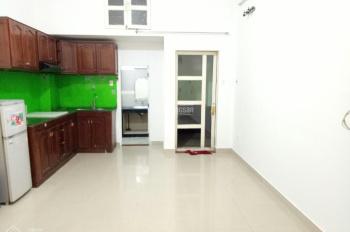 Cho thuê phòng Phú Nhuận tầng trệt 35m2, full nội thất, tủ bếp treo tường, free xe, nước net cap