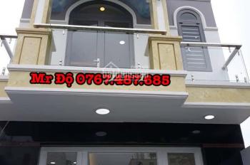 Nhà new DT=5x22m SHR, 4PN, Xây Mới, Xuân Thới 2, đường Trần Văn Mười, 0767.487.685