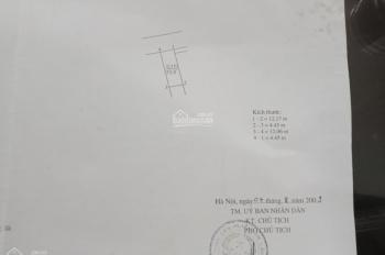 Bán nhà 3 tầng 1 tum, Đình Xuyên - Gia Lâm, 5 phòng ngủ, 3 vệ sinh DT: 53.9m2 MT: 4.5m dài: 12.17m