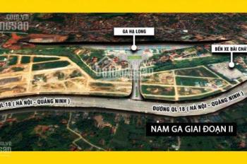 Bán đất nền dự án KĐT Nam Ga, vị trí đẹp, cam kết giá rẻ hơn giá thị trường, LH 0968.470.456
