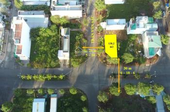 Nền góc 2 MT 138.2 m2 trục chính đẹp nhất KDC nông thổ sản - trung tâm quận Cái Răng TP Cần Thơ