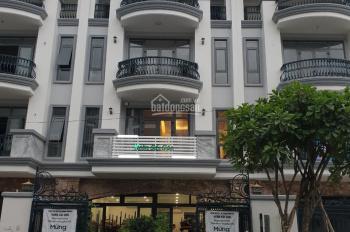 Nhà thô hoàn thiện mặt ngoài 7x21m,4 lầu Đường số 7(20m Vạn Phúc City thu nhập 50tr/th, giá 15.7 tỷ
