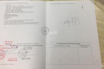 Bán đất MT Bình Chuẩn 42, Thuận An, sổ sẵn, XDTD, TC 100%, DT 80m2 giá 750 triệu. LH 0934745381