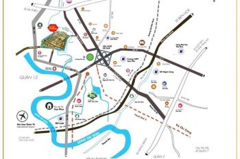 Đất sổ đỏ - khu đô thị ven sông - có đủ điện đường trường trạm