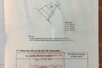 Chính chủ bán 50m2 đất thổ cư ở Dương Quang, Gia Lâm, Hà Nội. LH: 0911153689