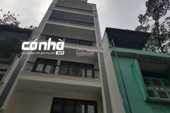 nhà hẻm xe hơi đường Nguyễn Tri Phương, phường 4, quận 10. DT 5.5x14m, 6 lầu, nhà mới